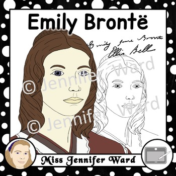 Brontë Sisters Clipart BUNDLE
