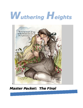 Bronte's Wurthering Heights Master Packet with KEY:  Commo