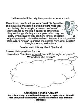 Bronx Masquerade Activity and Project Sheets