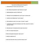Bronx Masquerade - Grimes - p3-16 Questions