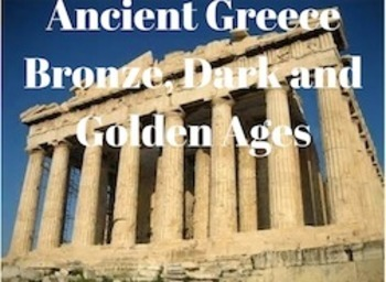 Ancient Greece  Lesson World History