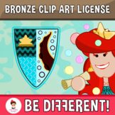Bronze Clip Art Extended License (PartyHead Graphics)