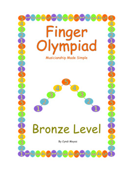 Bronze - Finger Olympiad (Beginning Piano)