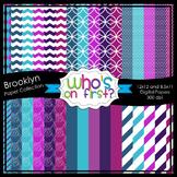 Brooklyn Digital Paper Set