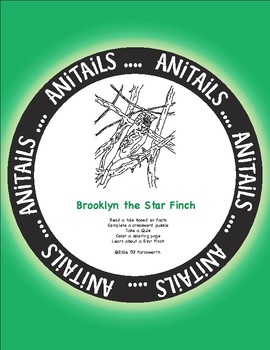 ANiTAiLS: Brooklyn the Star Finch Story, Crossword, Coloring page and more