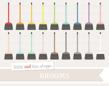 Broom Clipart; Cleaning, Clean, Supplies