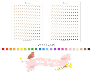 Broom Printable Planner Stickers