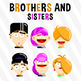 Brothers And Sisters - Free Starter Pack Clipart