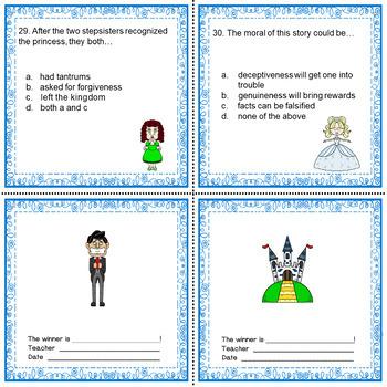 Brothers Grimm Cinderella Literacy