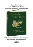 Brothers Grimm collection of 7 Readers Theater fairy tale