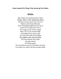 Brothers-Poem for The Things They Carried