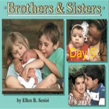 Brothers and Sisters Day 5 Smartboard Lesson