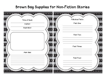 Brown Bag Book Report: Fiction and Non-fiction