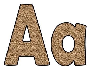 Brown Bag Capital and Lower Case Letters