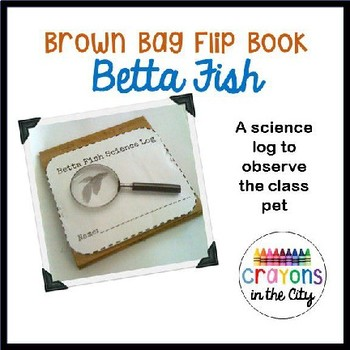 Brown Bag Flip Book- Ants Science Log