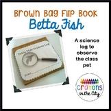 Brown Bag Flip Book- Betta Fish Science Log