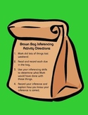 Brown Bag Inferencing Activity