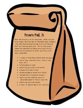 Brown Bag It! (Me Bag)
