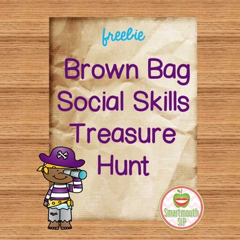 Social Skills Activities Treasure Hunt