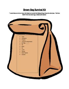Brown Bag Survival Kit