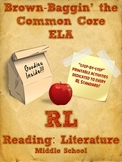 Common Core Reading Literature Printables