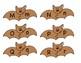 Brown Bat Alphabet Letter Matching Game or Center Activity