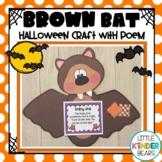 Brown Bat Crafts: Halloween Crafts: October Crafts