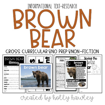 Brown Bear-A Research Project