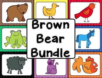Brown Bear Activities Bundle