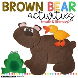 Brown Bear Activities: Math and Literacy