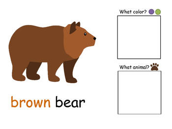 The Brown Bear Adapted Book companion