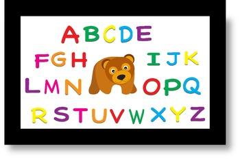 Brown Bear Alphabet Smartboard