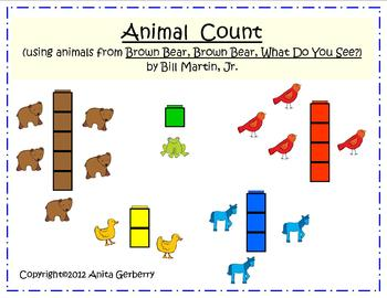 Brown Bear Animal Count