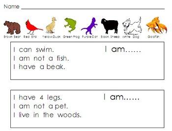 Brown Bear Math Activities and Printables