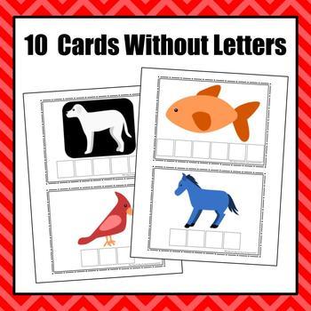 Brown Bear Bear Bear Color Word Cards