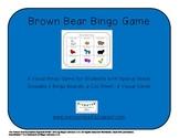 Brown Bear Bingo Game