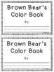 Brown Bear Book - FREEBIE!!
