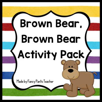Brown Bear, Brown Bear Activities (Literacy, Math, Colors)