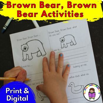 Brown bear brown bear activities teaching resources teachers pay brown bear brown bear activities for kindergartenpreschool fandeluxe Images