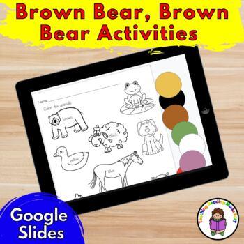 Brown Bear Brown Bear Activities for Kindergarten/Preschool