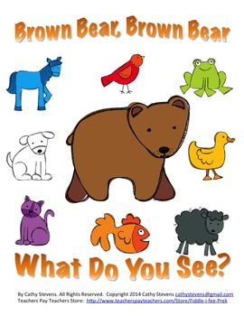 Brown Bear Brown Bear Activity Unit