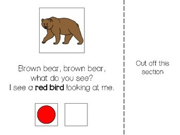 Brown Bear, Brown Bear  - Adapted Book (UPDATED!)