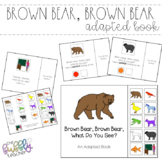 Brown Bear, Brown Bear  - Adapted Book