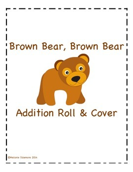 Brown Bear, Brown Bear Addition Roll and Cover