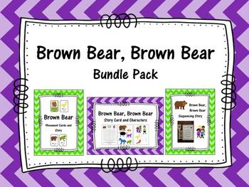 Brown Bear, Brown Bear Bundle Pack