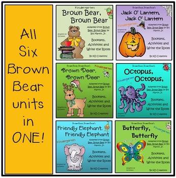 Brown Bear, Brown Bear Bundle of 6