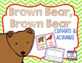 Brown Bear, Brown Bear Center Activities