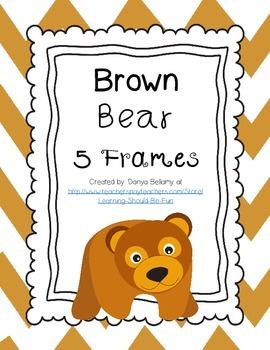 Brown Bear, Brown Bear Character 5 Frames & Recording Sheet
