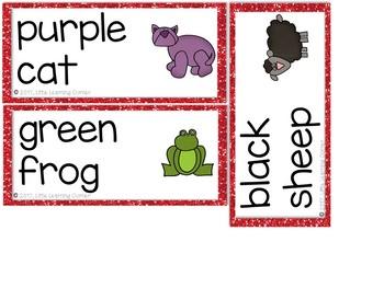 Brown Bear, Brown Bear Character Cards