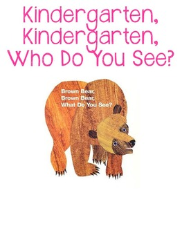 Brown Bear, Brown Bear Class Book Freebie